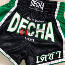Тайские шорты DECHA DSD10 black green