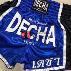 Шорты Muay Thai DECHA DSD10 blue
