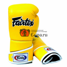 Перчатки для спарринга Fairtex BGV6 Yellow
