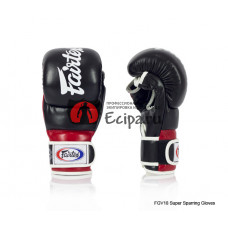 Перчатки для ММА Fairtex FGV18 Red Super Sparring