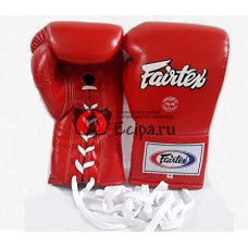Перчатки профессиональные для бокса Fairtex BGL6 red