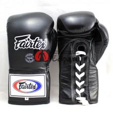 Профессиональные боксёрские перчатки Fairtex BGL6 black