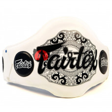 Пояс тренер Fairtex BPV2 White