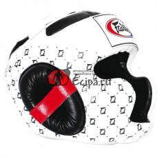 Шлем Fairtex HG10 white-black
