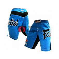 Шорты ММА из Таиланда Fairtex AB1 blue