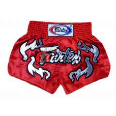 Шорты для тайского бокса Fairtex  BS0665 Red