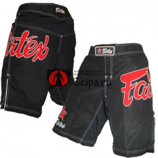 Шорты Для MMA Fairtex AB1-Black-Red