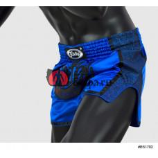 Тайские шорты Fairtex BS1702 Slim Blue