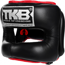 Тайский шлем с дугой TOP KING Head Guard Pro Training TKHGPT (CС)