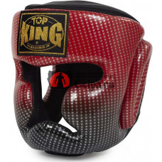 Шлем для тайского бокса TOP KING super star red
