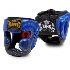 Шлем для Muay Thai TOP KING super star blue