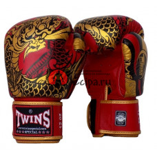 Перчатки MuayThai FBGV52 Dragon red