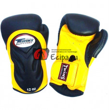 Перчатки Twins special BGVL 6 black-yellow
