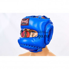 Шлем для Muay Thai Twins HGL10 Blue